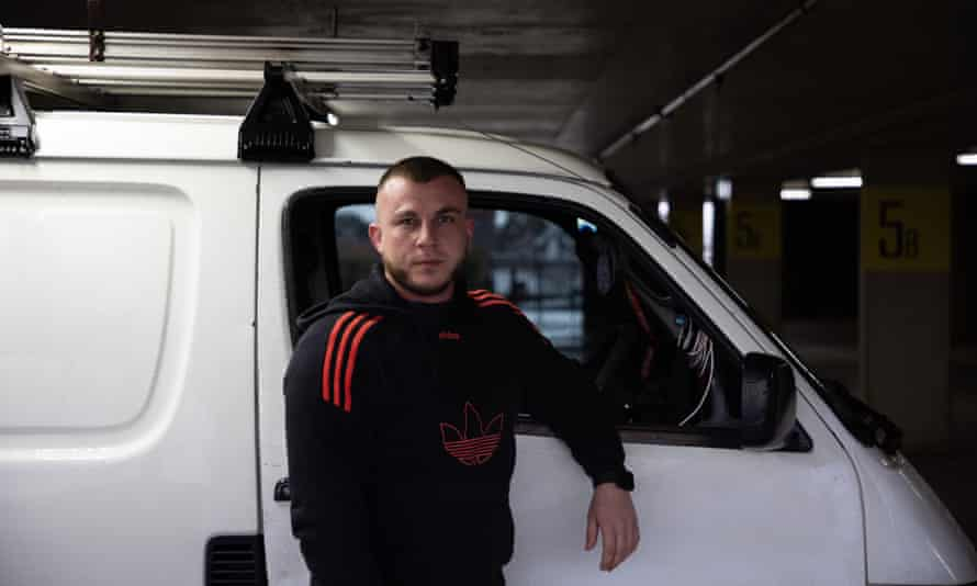 Nasser Zreika, delivery driver for Cake Hero.
