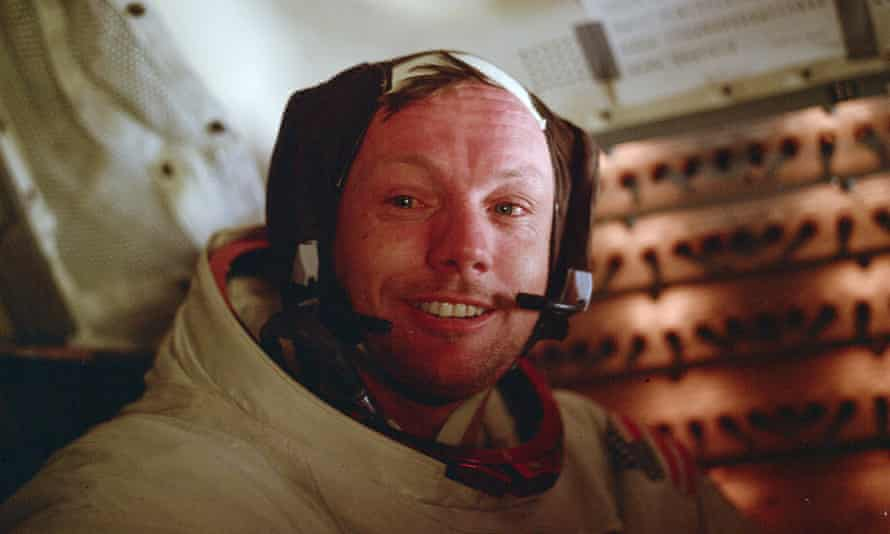 Neil Armstrong inside the lunar module in 1969. He died after post-surgical complications in 2012.