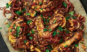 Yotam Ottolenghi's roast chicken with sumac, za'atar and lemon