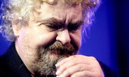 Daniel Johnston performing in Austin in November 2013