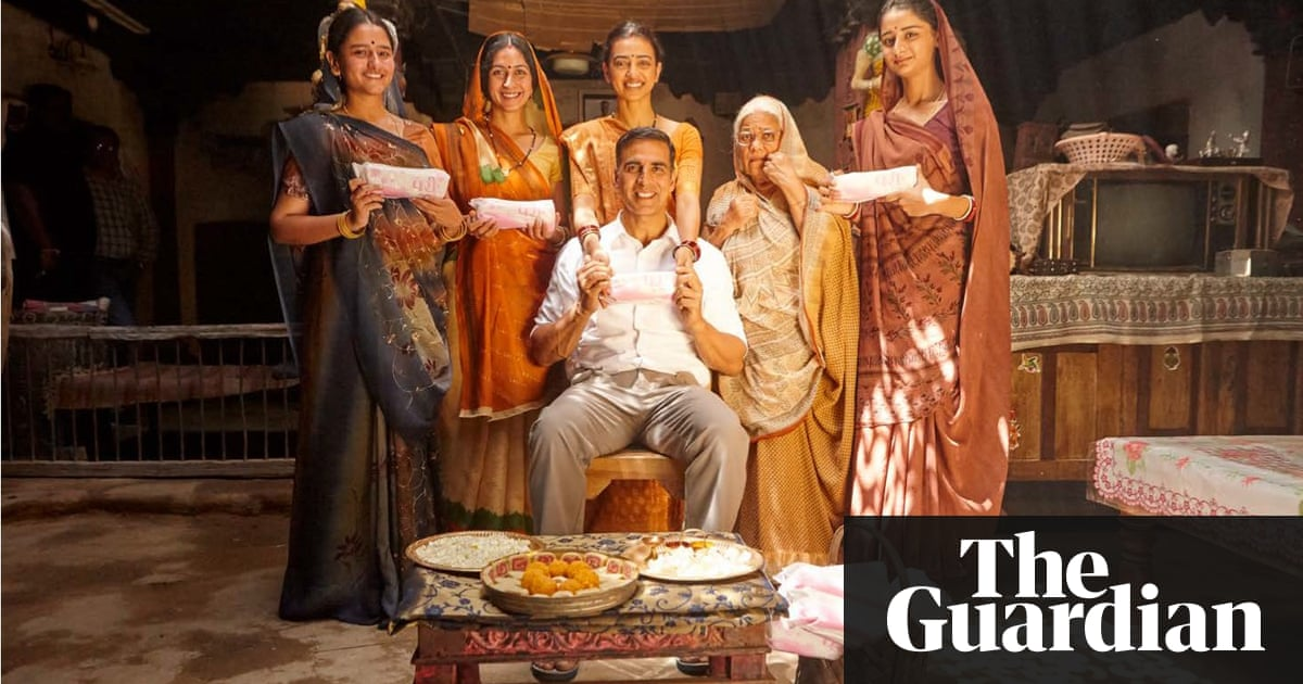 Pad Man review – one man's life-affirming crusade for women
