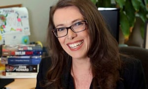 Michelle Gunn, who has been appointed as the first female editor of the Australian newspaper, 15 May 2020