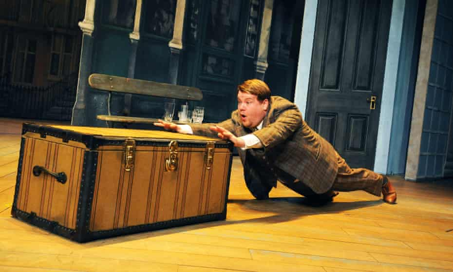 James Corden in One Man, Two Guvnors.