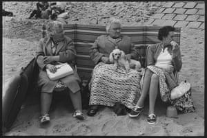 Probably Jaywick Sands, Essex, circa 1967