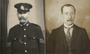 Robin McKie's grandfathers LEFT: Paternal grandfather John Mckie RIGHT: maternal grandfather David Pearson