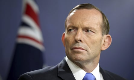 Tony Abbott has 'left the realm of the merely destructive' on climate change, Labor says.