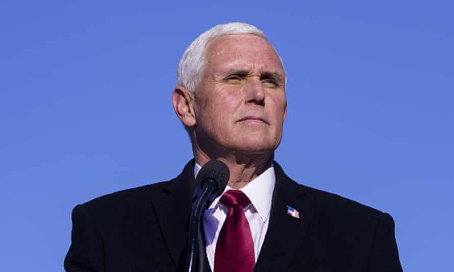 Mike Pence, pictured in January.