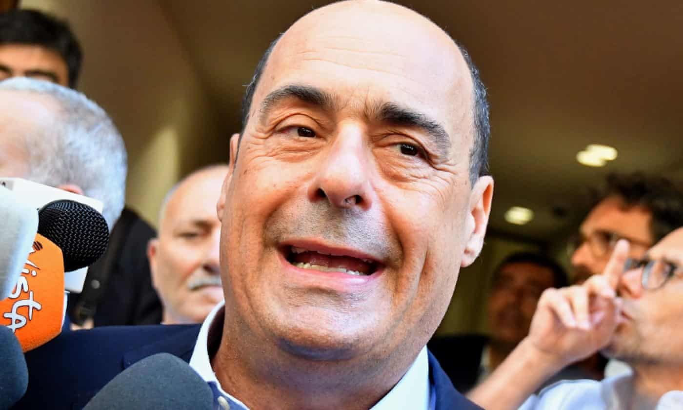 Italy's Democratic party leader warms to idea of M5S alliance