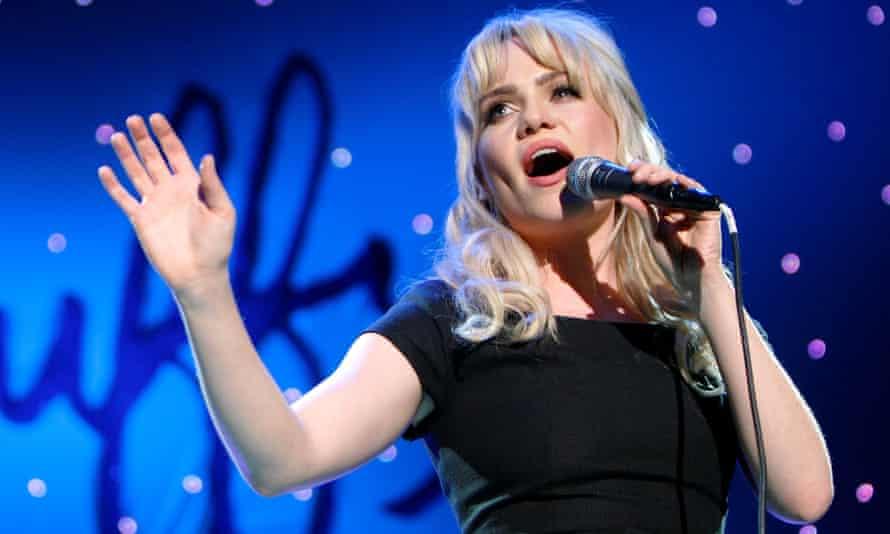 Duffy performing in 2009.