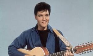 Elvis Presley c.1955.