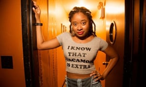 'It's so rare for a black woman to be interviewed by another black woman' … Phoebe Robinson.