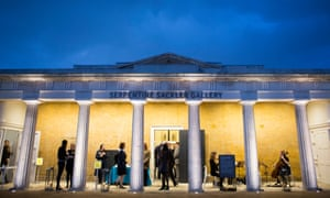 The Sackler gallery at the Serpentine in London. So far the Serpentine and other galleries have made no public comment.