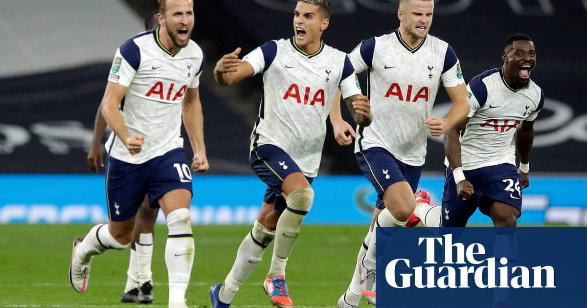 Tottenham beat Chelsea on penalties to reach Carabao Cup last eight