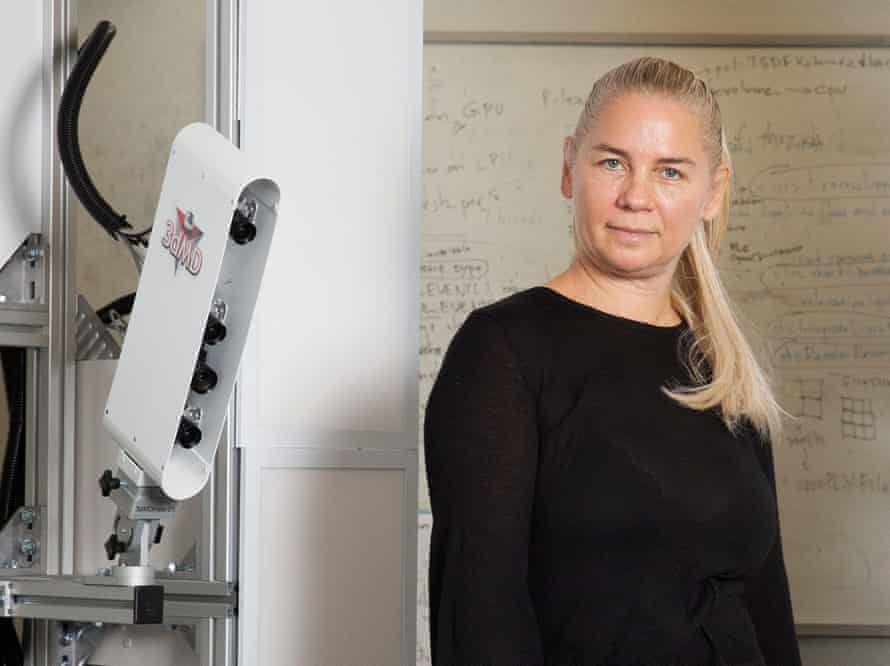 Maja Pantic, research director of Samsung Al Research Centre, photographed at Imperial College, London