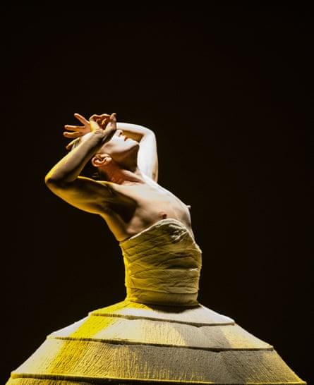 Akram Khan's iTMOi, based on Stravinsky's Rite of Spring, at Sadler's Well in 2013