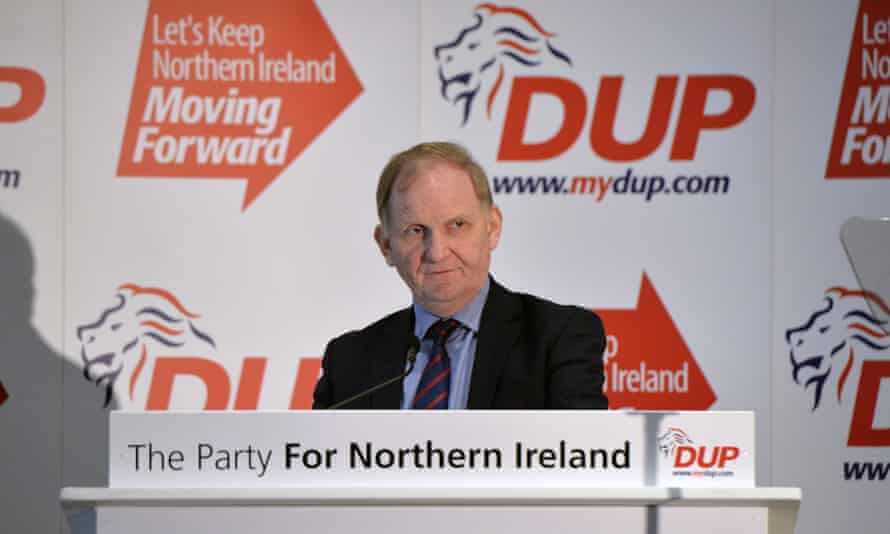 Lord Morrow of the Democratic Unionist Party, who first proposed making it illegal to pay for sex in Northern Ireland