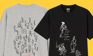 Jason Polan T-shirts for Uniqlo
