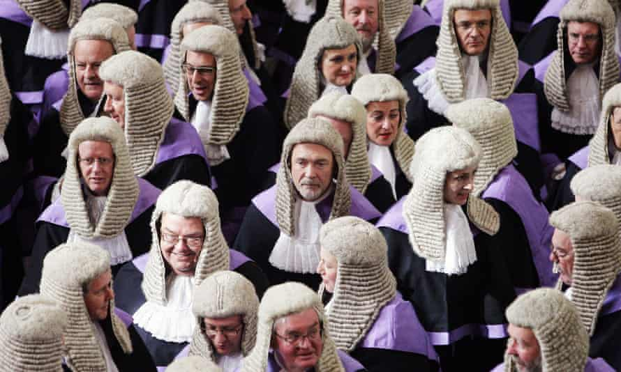 Judges at Westminster Abbey