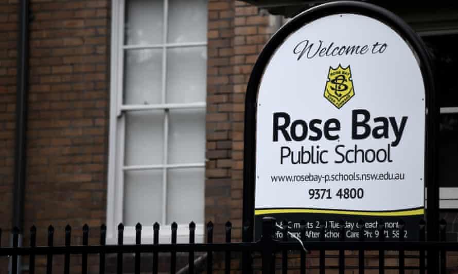 Rose Bay public school in Sydney