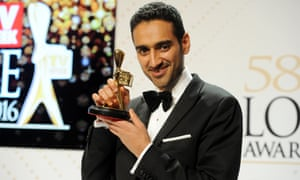 Gold Logie winner Waleed Aly at the 2016 Logie Awards.