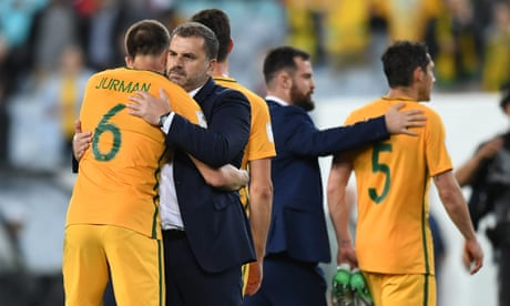 Socceroos take bumpy route to World Cup as Cahill's head prevails