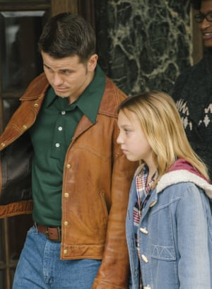 Jason Ritter as Bill, the older man, and Isabelle Nélisse as the young Jennifer in The Tale.