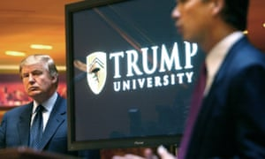 Donald Trump owned 92% of Trump University and had control over all major decisions.