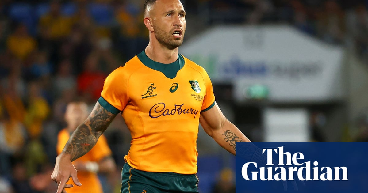 Quade Cooper's road to Wallabies redemption gets a lot harder | Bret Harris