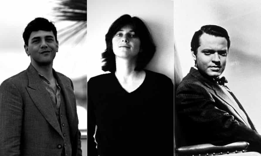 Hot young things: Xavier Dolan, Chantal Akerman and Orson Welles.