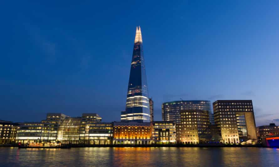 the Shard at London Bridge in south London
