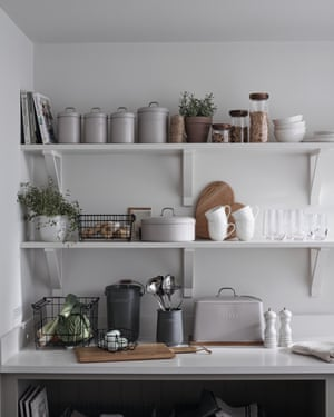 """When it comes to the kitchen, stylish glass jars and clip jars look great for a more casual look, and they also offer ease of access to your everyday cooking and baking staples,"""""""