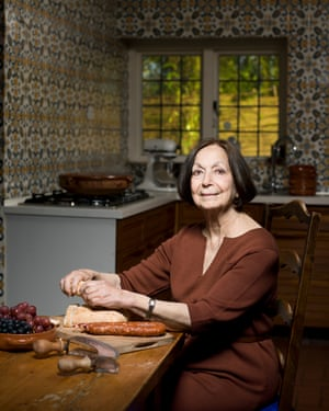 Claudia Roden photographed for OFM at her home in north London in 2012.