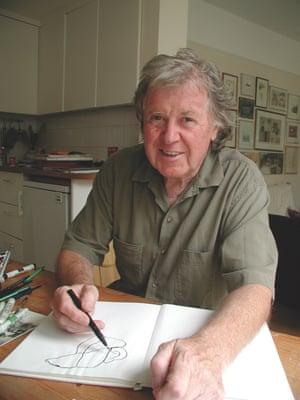 David McKee, creator of Mr Benn.