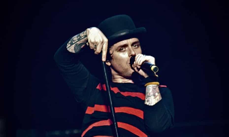 Billie Joe Armstrong of Green Day – becoming something of an interloper by covering (I Can't Get No) Satisfaction by the Rolling Stones in 2013?