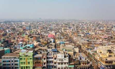 Rooftops in Delhi: barsati once offered a new generation of urbanites cheap living space near the city centre.