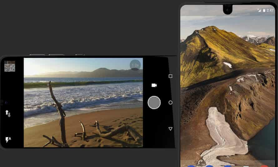 The Essential Phone.
