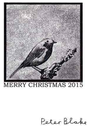 Guardian Christmas card by Peter Blake.