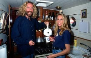 Brian Kilcline and his wife Lynn