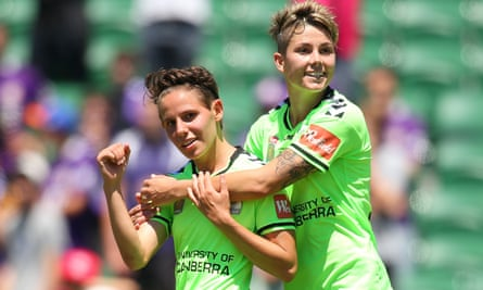 The likes of Canberra United's Ashleigh Sykes and Michelle Heyman are set to return to Australian screens next season.
