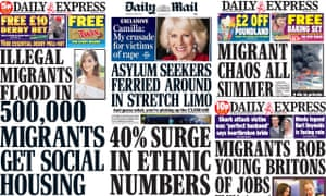 Migrant headlines