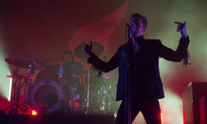 The Killers live at Brixton Academy.