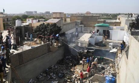 Pakistani passenger plane carrying 98 people crashes in Karachi