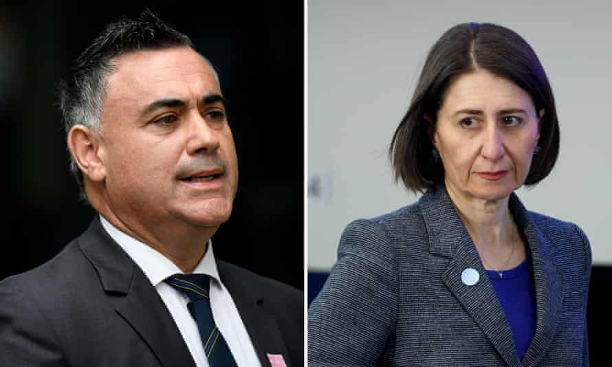 Standoff: the premier, Gladys Berejiklian, says she will visit the governor on Friday morning unless the Nationals leader withdraws his threat to sit on the crossbench.