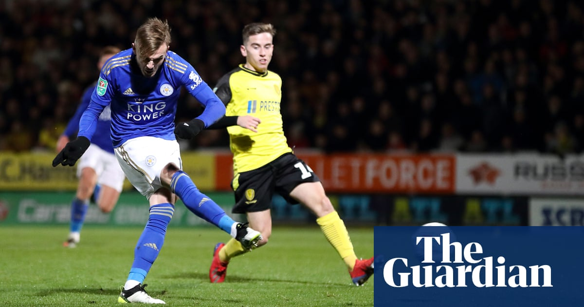 James Maddison makes Burton pay and helps fire Leicester into last eight