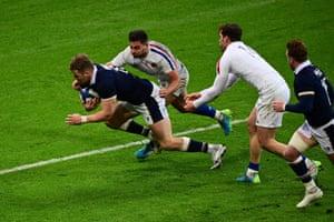 Duhan van der Merwe wins it for Scotland!