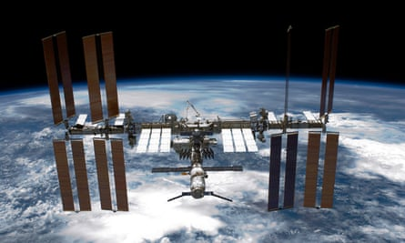 The International Space Station (ISS). Nasa's focus on the ISS has left it to tech entrepreneurs to dream up wilder ideas.