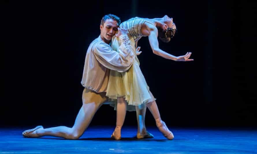 Layers of emotion … Lauren Cuthbertson and Matthew Ball in Romeo and Juliet.