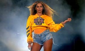 Beyoncé performs at the 2018 Coachella festival