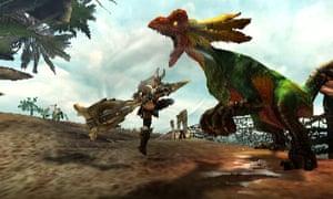 Monster Hunter Generations screengrab