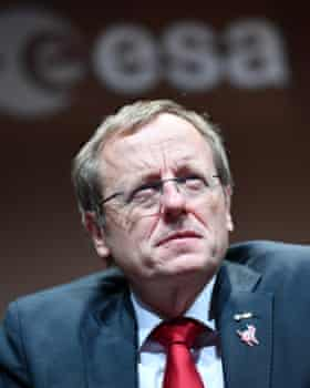 Jan Wörner, director general of the ESA.